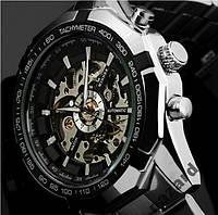Стильные механические часы Winner Skeleton