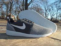 Кроссовки мужские в стиле Nike Roshe Run серые (размеры 42, 44)
