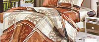 Постельное белье двуспальное Теплая осень, бязь (хлопок 100%)