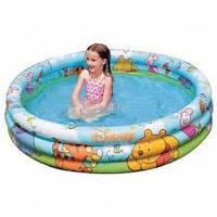 Детский надувной бассейн INTEX с Винни Пухом, размер 147х33 см. 58915