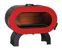 Чугунная печь Invicta Fifty arche (красная эмаль)