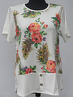 Женская футболка-туника