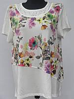 Модная женская футболка на лето