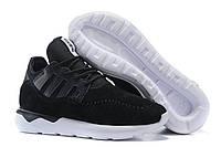 Кроссовки мужские Adidas Tubular Moc Runner Suede Black беговые оригинал