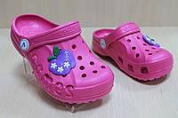Кроксы детские тм Vitaliya, летняя, пляжная обувь для девочки р. 30-31,32-33