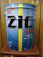 Полусинтетическое моторное масло ZIC X5000 10w40 (20 литров) Сертификат
