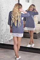 Платье М-902 с кружевом, фото 1
