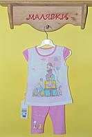 """Костюм для девочки """"Подарочек"""" розовый (92 размер)"""