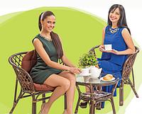 """Мебель из ротанга """"Kuta"""" (Индонезия): комфортное чаепитие на природе"""