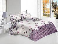 Двуспальный набор постельного белья «Вензеля»