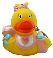 Детская игрушка Lilalu | Funny Ducks Пупс девочка утка - брелок (L1748SA)