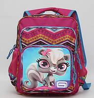 Удобный и вместительный рюкзак для девочки. Ортопедический рюкзак. Рюкзак для школы. Качественный. Код: КДН55