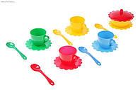 Набор посуды Ромашка на 4 персоны с сахарницей Люкс Тигрес 39088