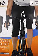 Велотреки женские CRIVIT с 3D памперсом 1,3см (как XL)