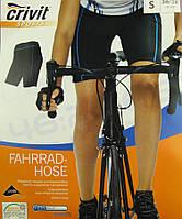 Велотрусы женские CRIVIT с 3D памперсом 1,3см (L) 44-46