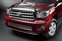 Дефлектор на капот Toyota Sequoia 2008-13 новые оригинал