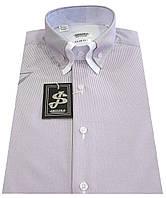 Мужская рубашка с коротким рукавом в полоску S 5.1 7334-V4