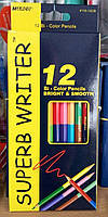 Карандаши цветные Marco 24 цвета 12 шт