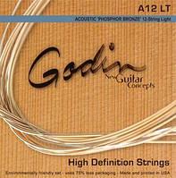 Струны GODIN 009343 12стр. – Acoustic Guitar LT Phos Bronze 12 Strings