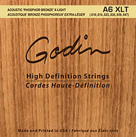 Струны GODIN 008988 A6 XLT – Strings Acoustic Guitar XLT Phos Bronze