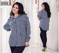 Рубашка женская супер батальная по 60 размер!!  р2875