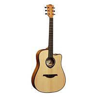 Акустическая гитара LAG Tramontane T66DC
