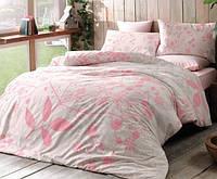 Комплект постельного белья из бамбука и хлопка  Tac RELAX V01 PEMBE