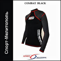 Футболка PS MMA-009 RashGuard COMBAT BLACK