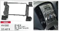 2-DIN переходная рамка HYUNDAI H-1, Starex 2007+; i800, iLoad, iMax 2008+ (Black), CARAV 11-411