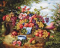 "Набор для вышивания гобелена ""Luca-S"" G475 натюрморт на фоне природы"