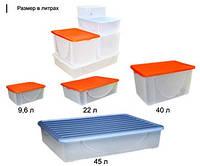 Ящики для хранения, корзины, емкости