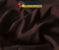 Вельвет костюмный темно-коричневый х/б