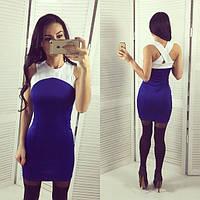 Женское облегающее мини платье