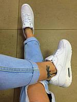 Кроссовки белые, кожзаменитель