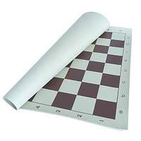 Доска пластиковая мягкая для шахмат и шашек 57мм