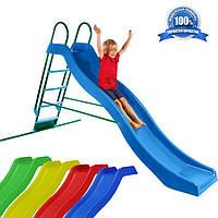 Скат, спуск для детских горок. Водная горка длиною 3 метра