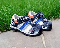 Детская обувь босоножки на мальчика 21-26р