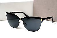 Женские очки Sepori Rossi черные , очки солнцезащитные