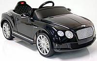 Детский электромобиль Bentley GTC (черный) Rastar