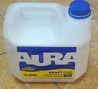 Универсальная укрепляющая грунтовка глубокого проникновения Kraft uni Crunt Aura Eskaro 10 л