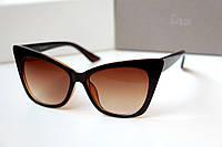 Женские солнцезащитные очки Chanel Miranda коричневые , очки 2016