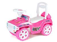 Детская машина-толокар, розовая Орион (419)