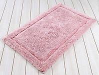 Коврик для ванной 60х100 хлопок/бамбук IRYA LINDA розовый