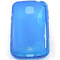 Чехол-крышка для LG L30 D125 Синий Silicon