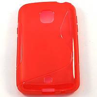 Чехол-крышка для LG L30 D125 Красный Silicon