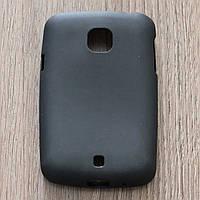 Чехол-крышка для LG L20 D105 Чёрный Silicon