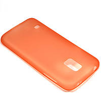 Чехол-крышка для Samsung Galaxy S5 Mini G800H Оранжевый Пластик
