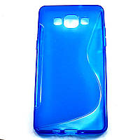 Чехол-крышка для Samsung Galaxy A5 A500H Синий New Line