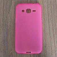 Чехол-крышка для Samsung Galaxy J2 J200H Розовый Silicon