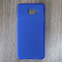 Чехол-крышка для Samsung Galaxy A7 A710F Синий Silicon